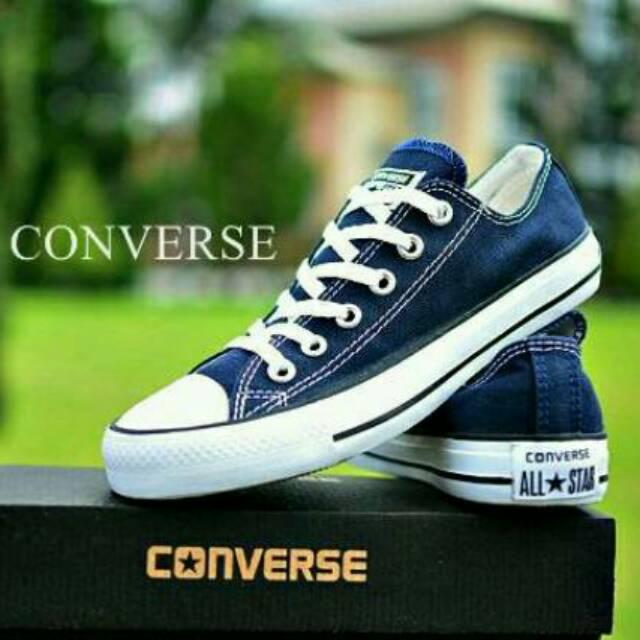 Sepatu CONVERSE Allstar Chuck Taylor Navy   Biru Dongker  677d56c1ba