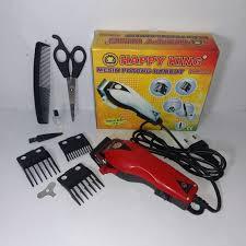 Mesin Alat Cukur Potong Pangkas Rambut Happy King Barber Hair Clipper -  Merah 3d210e35fe