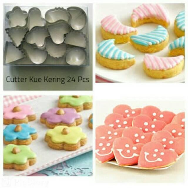 Isi 10 Cookies Cutter cetakan Food biskuit kue kering fondant sayur wortel (bunga,love,jamur) 206 | Shopee Indonesia