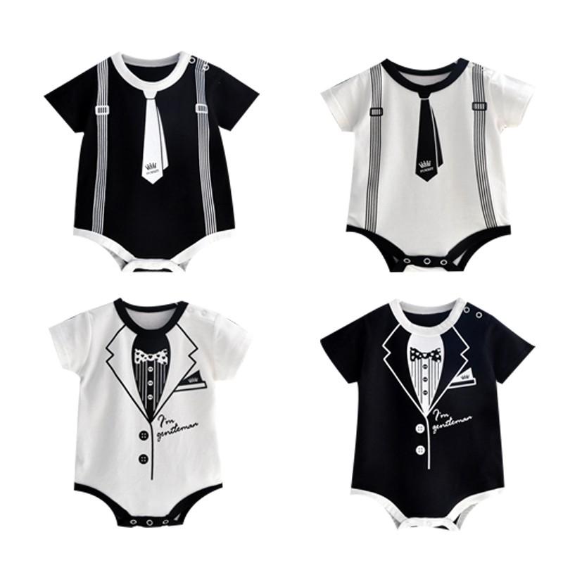 Pakaian Bayi Baru Lahir Baju Bayi Lengan Panjang Jumpsuit Pakaian Bayi Laki Laki Keluar Pakaian Shopee Indonesia
