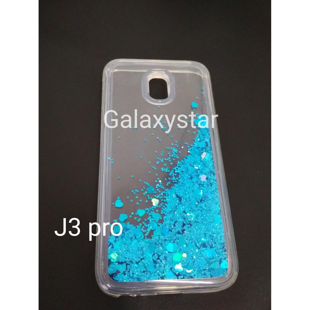 Case Handphone Motif Water Glitter Samsung J330 J3 Pro 2017 Shopee Indonesia