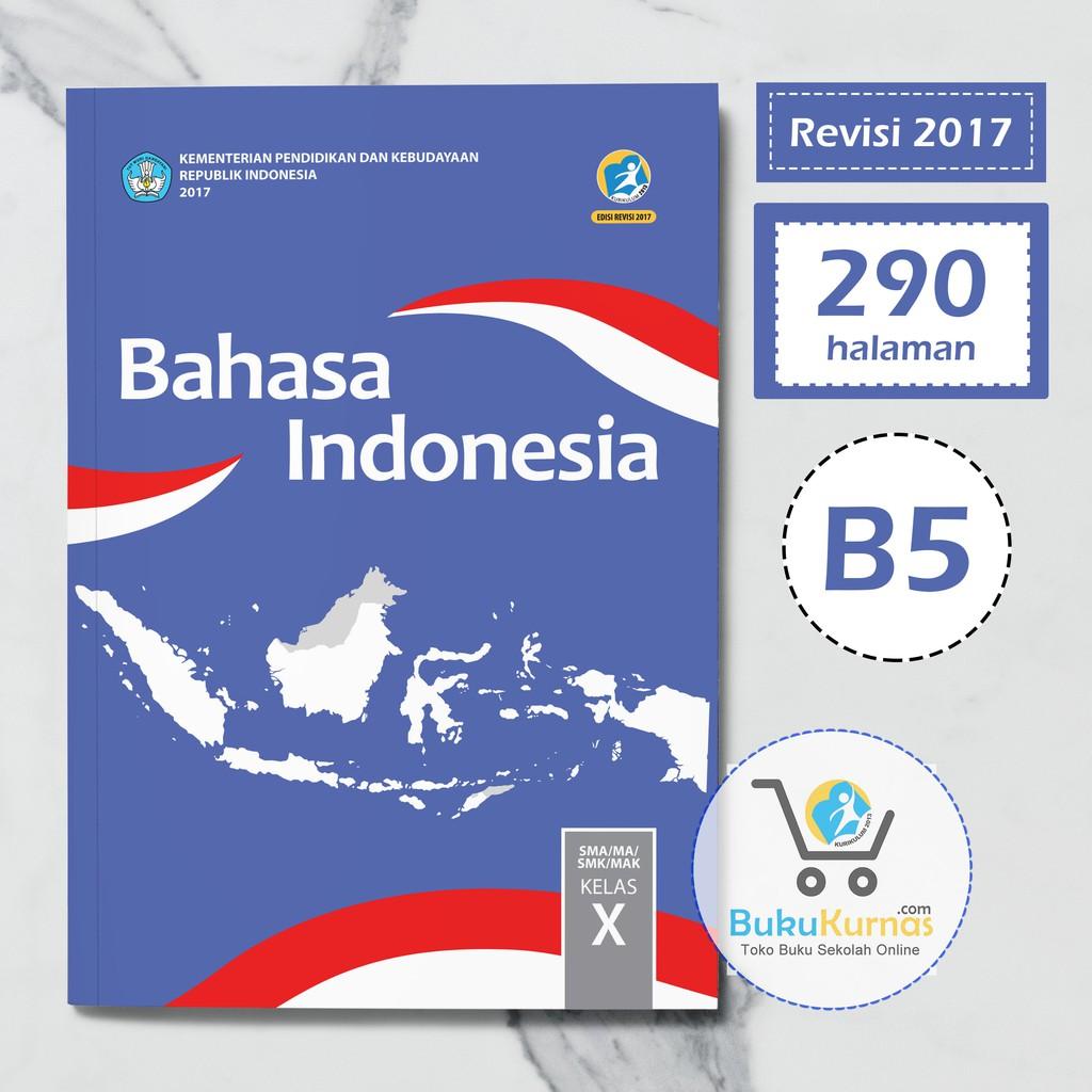 Buku Bahasa Indonesia Kelas 10 Kurikulum 2013 Revisi 2016 Ilmusosial Id
