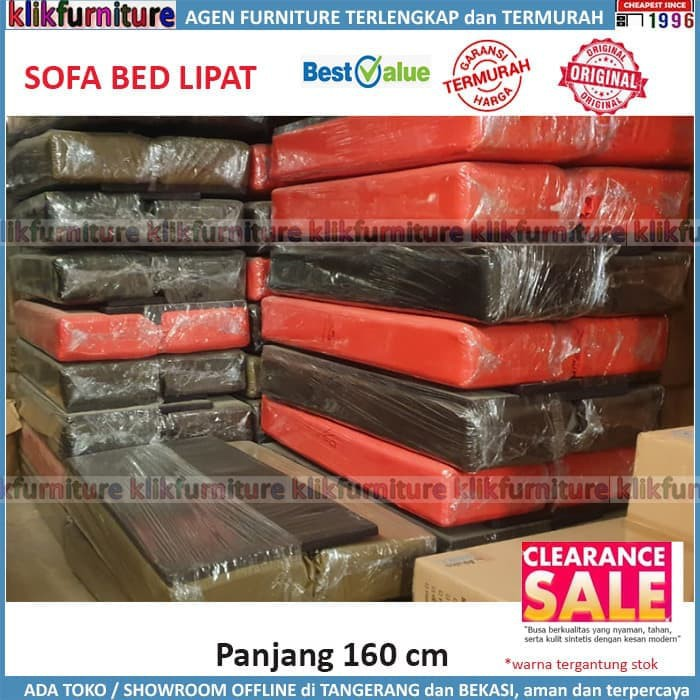 Sofa Bed Lipat Panjang 160 Clearance