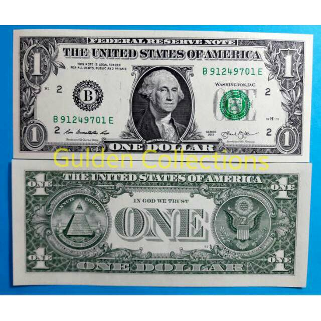 Uang Kuno Luar Negri Asing 1 Dollar Amerika Usd Unc Shopee Indonesia