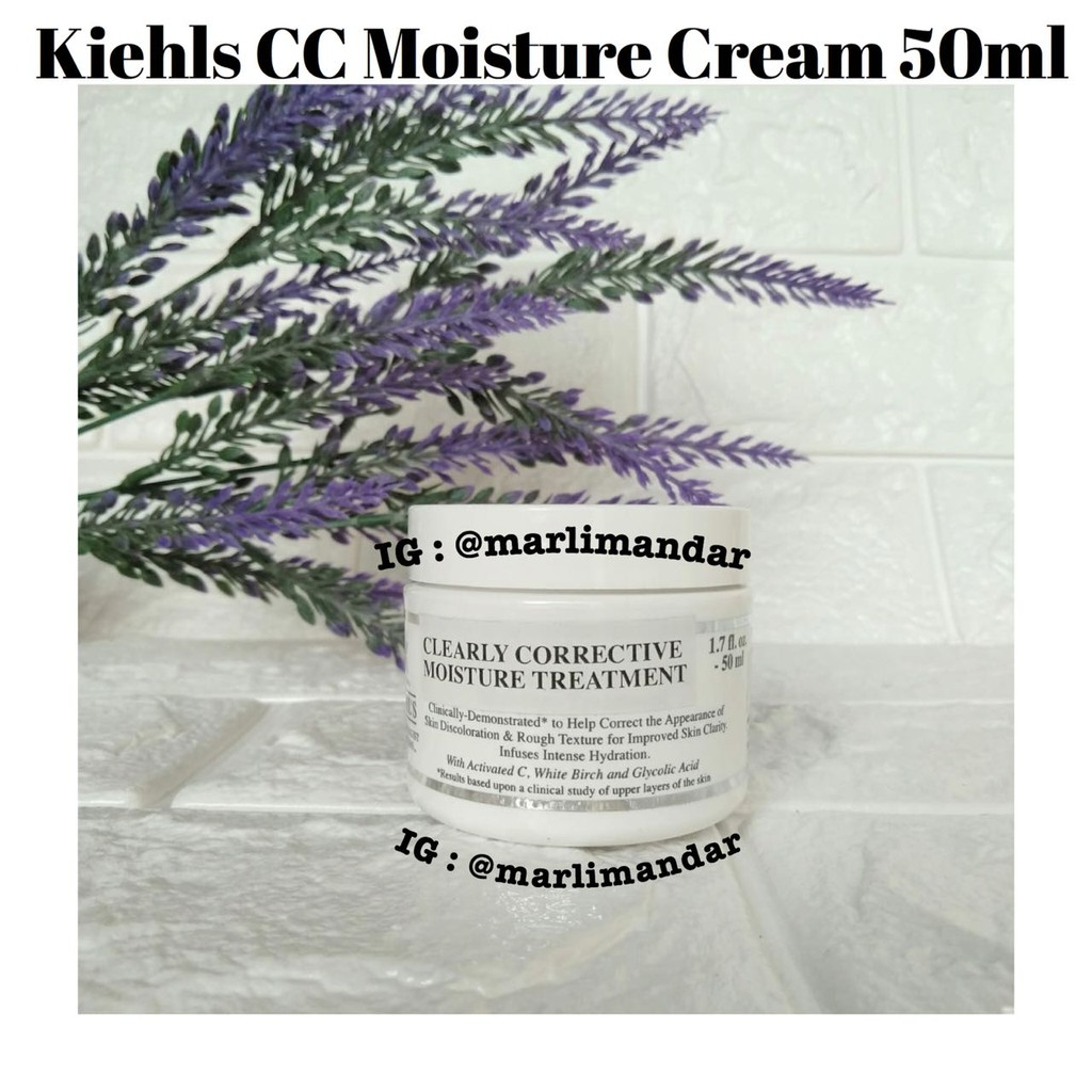 Kiehls Clearly Corrective Brightening & Smoothing Moisture Treatment Cream  50ml