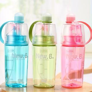 ... Botol Minum New B Sport Spray Water Bottle 400 ml. suka: 0