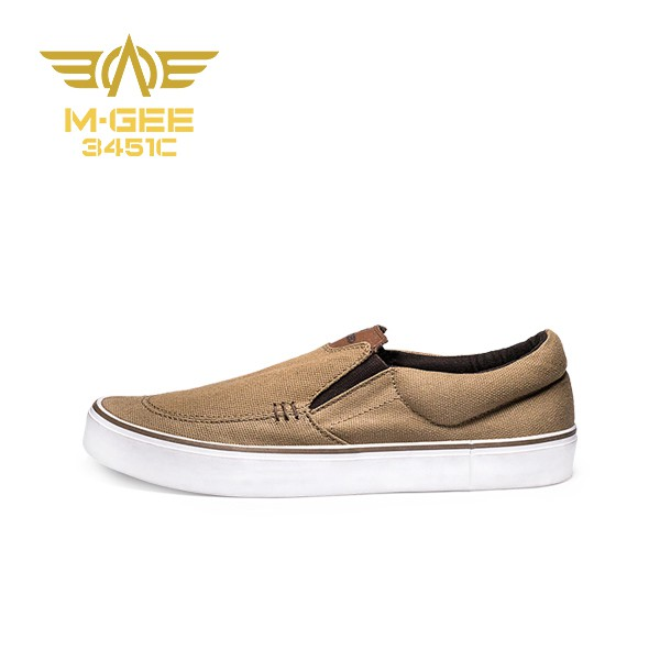 M-GEE The Feed Optimus Slip On Pria Coklat