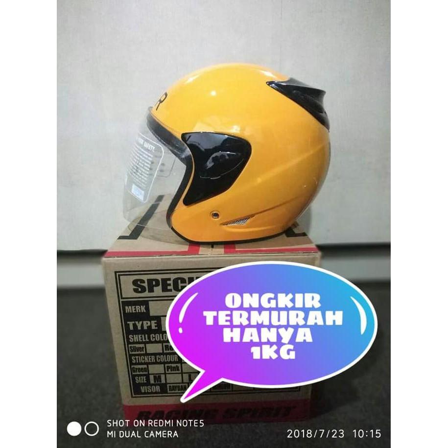 Helm Uber Orange Shopee Indonesia Cargloss Mxc Pro Racing Motocross Sp Whity White Putih Size Xl
