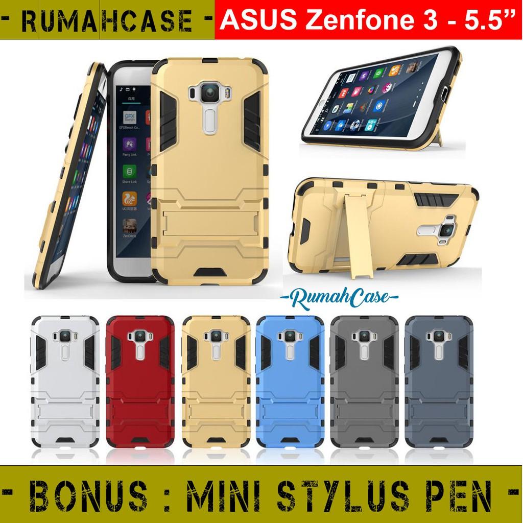 Asus Zenfone 3 Ze520kl 52 Inch Iron Man Armor Hardcase With Stand Silikon Soft Case Ze552kl 55 Nillkin Nature Ultrathin Original Holder Casing Hybrid Cover Shopee Indonesia