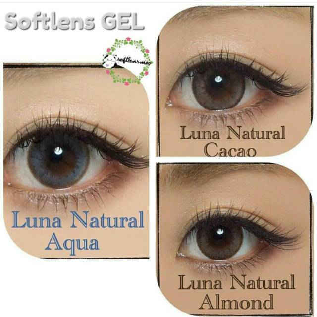 SOFTLENS GEL LUNA NATURAL BEST SELLER 14.5mm  71acec3a0a