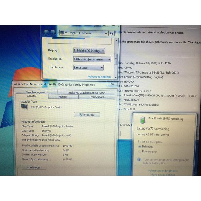 Jual LENOVO THINKPAD X240 I5 4300U 1 9GHZ 4GB RAM 128GB SSD MULUS MURAH  Diskon