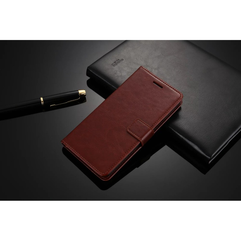 Xiaomi Mi Max 2 Leather Case Casing Kulit Flip Wallet Cover Shopee Airyrooms Silicone Powerbank 10000mah Ter Oem Indonesia