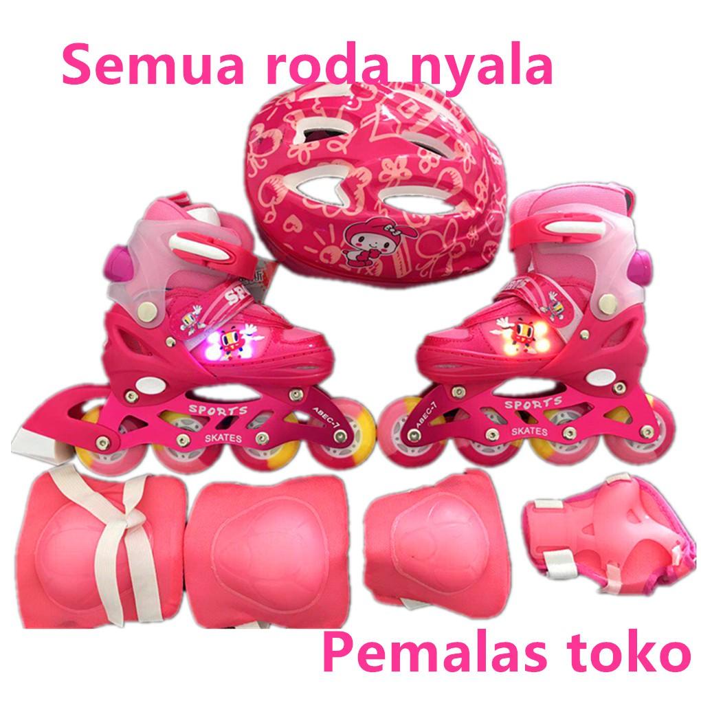 Dijual Sepatu Roda Inline Skate POWER SUPERB Red Murah Berkualitas ... ce9a328710