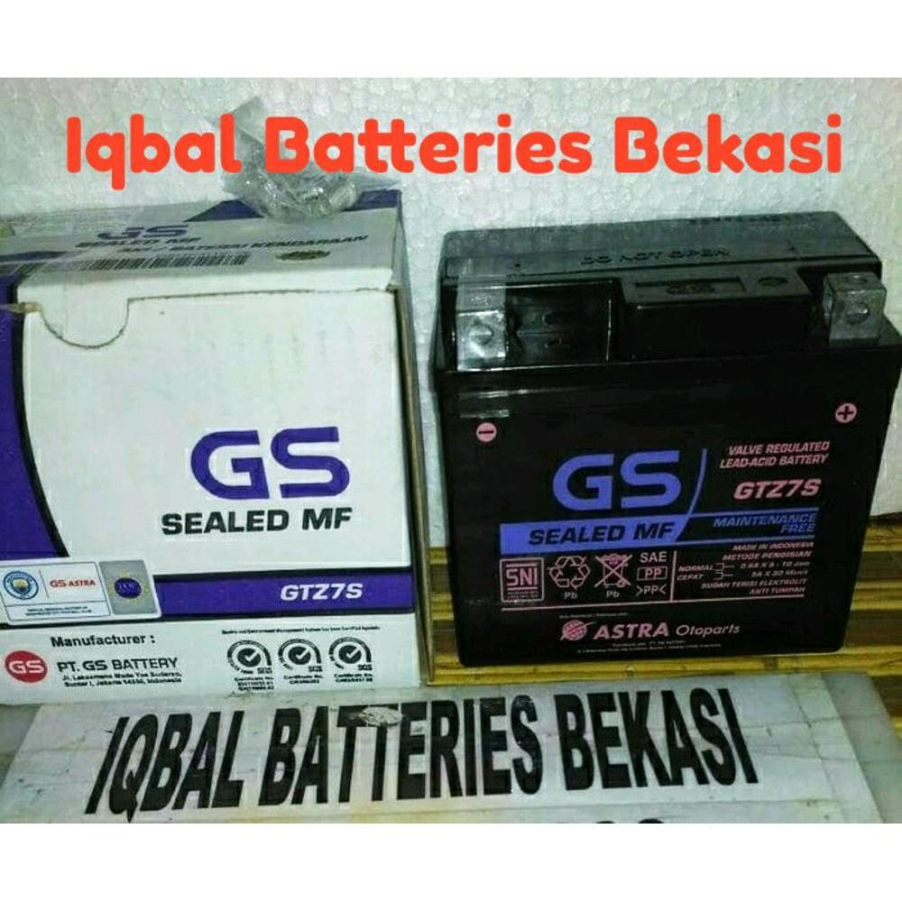 Aki Gs Astra Gtz7s Satria Fu 150 Cbr 150r Kering Sto1222 Cene Accu Untuk Motor Supra F Vario Beat Motors Shopee Indonesia