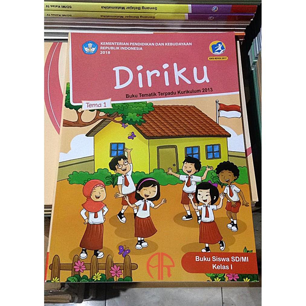 Buku Tematik Kelas 1 Sd Mi Tema 1 Diriku Revisi 2017 Kurikulum 2013 Shopee Indonesia