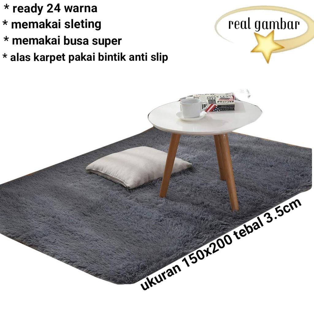 Karpet Perlengkapan Rumah Temukan Harga Dan Penawaran Online Matras Bulu Busa Uk 200x150x3cm Terbaik Oktober 2018 Shopee Indonesia