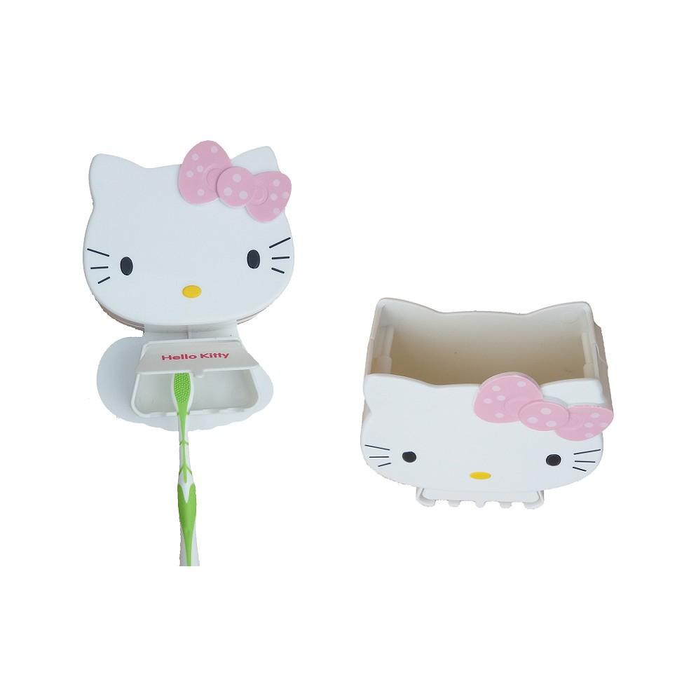 Holder Sikat Gigi Hello Kitty Bisa Untuk Tempat Sisir Tutup Cs Smart Shopee Indonesia