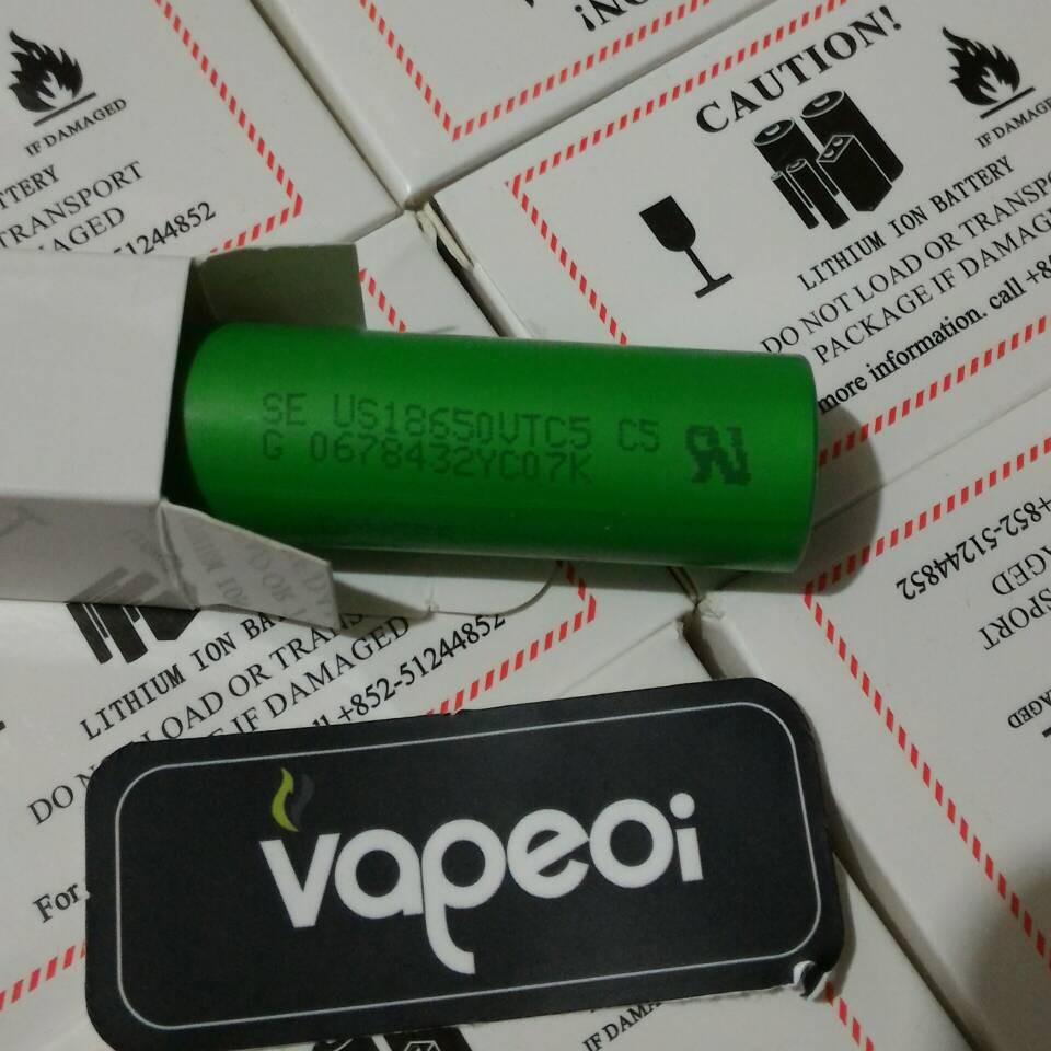 Baterai Rokok Elektrik Sony 2600mah Mods Vape Vapor Tipe 18650 Paket Ngebul Komplit Istik Fico 75w Us18650 Vtc5 30a Li Ion Battery Vaporizer Shopee Indonesia