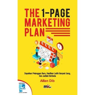 TERLARIS! - BUKU BISNIS - THE 1-PAGE MARKETING PLAN [ALLAN DIB]