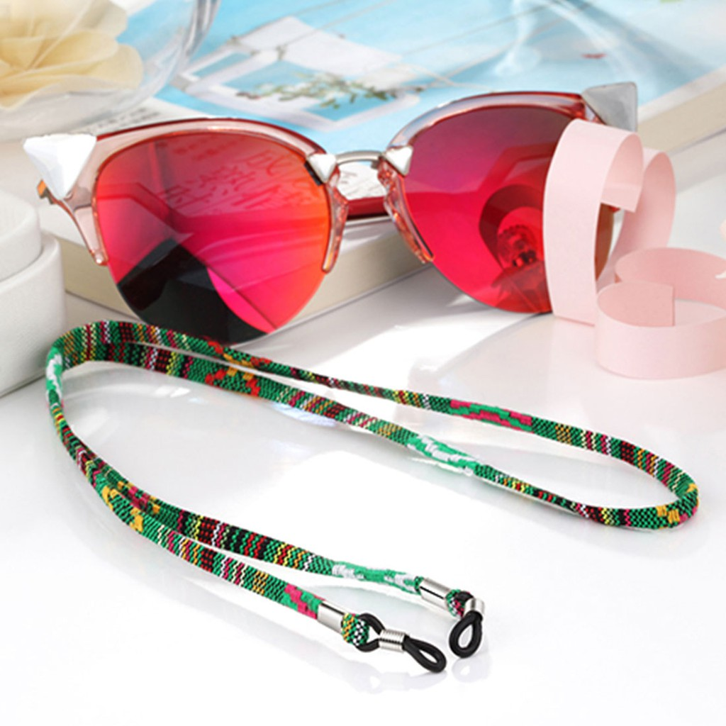 Sport Eyewear Lanyard Sunglasses Retainer Glasses Cord Strap Neck String XR