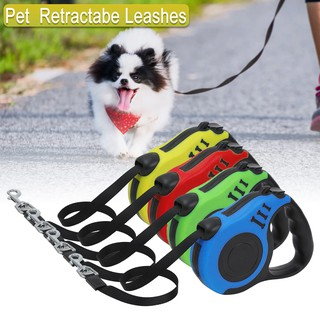 Two Dog Leash-3m 50Lbs Automatic Per Retractable Dual Pet Leash Rope-Strong Nylon with Comfortable Handle,Suitable for Large Small and Medium-Sized Dogs to Training,Walking,Jogging