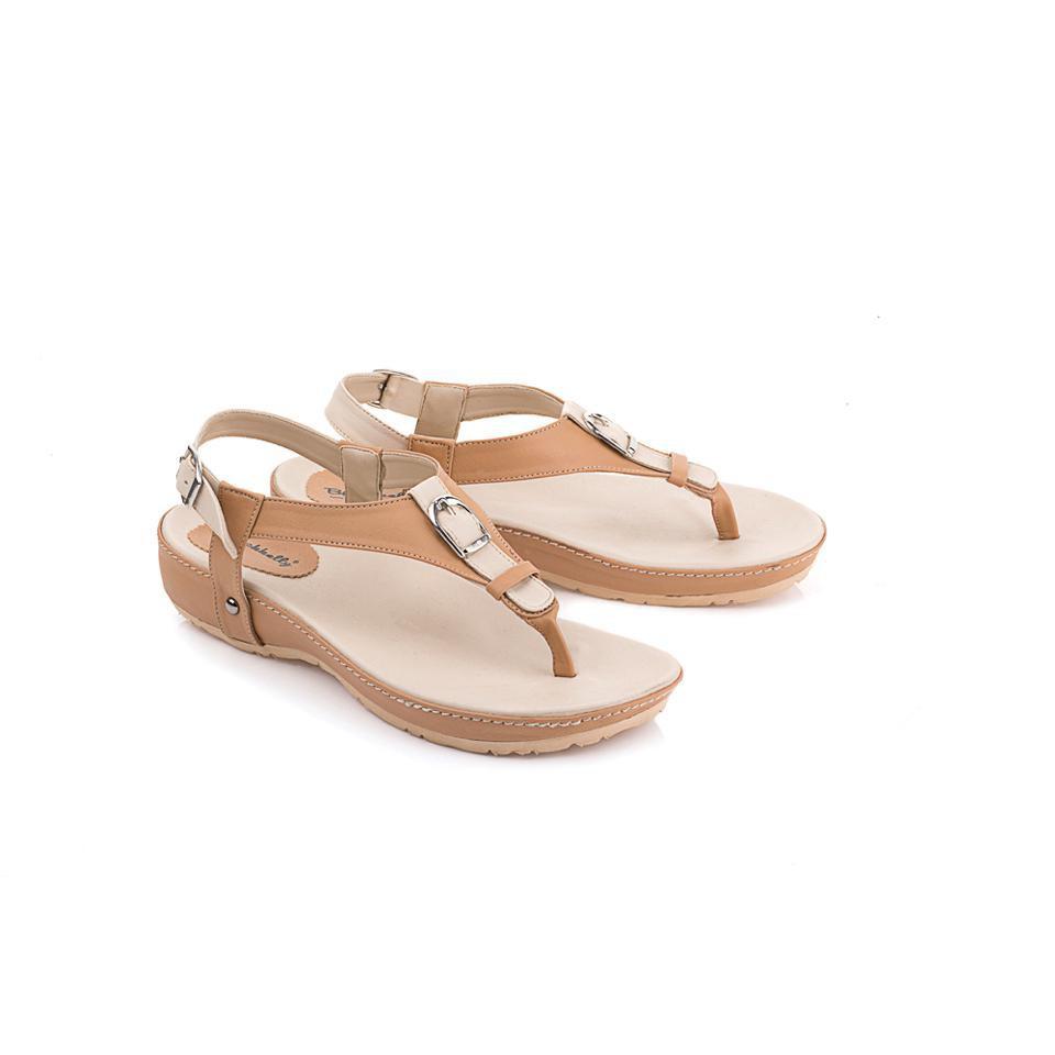 Original Sandal Flat Wanita Blackkelly Lep 740 Shopee Indonesia