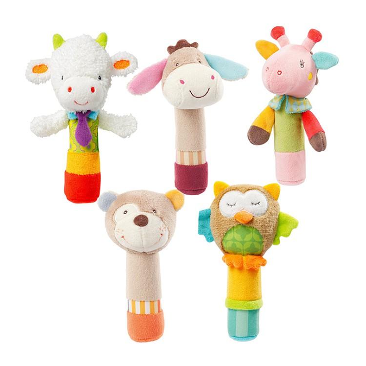 JJ Ovce Animal Chime Toy - Mainan Edukasi Anak - Boneka Kerincingan Bayi -  Kado newborn  68a3eb0c73