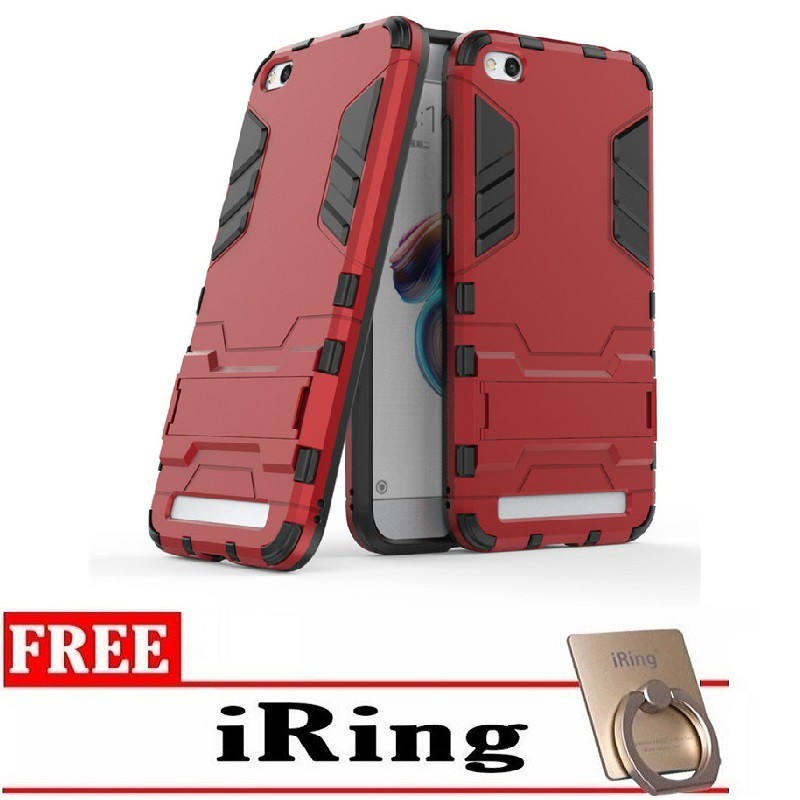 Kickstand IRON Man Series COVER CASE FOR SAMSUNG NOTE 5 | Shopee Indonesia