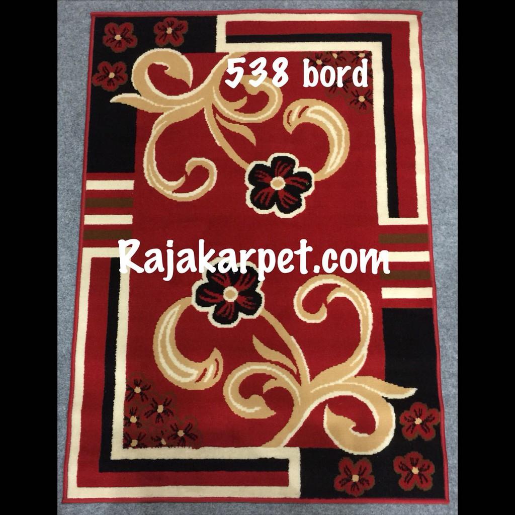 Karpet Rumah Paradise Ukuran 105 X 150 Hitam 11784 Shopee Indonesia Marocco 100 Merah 2303