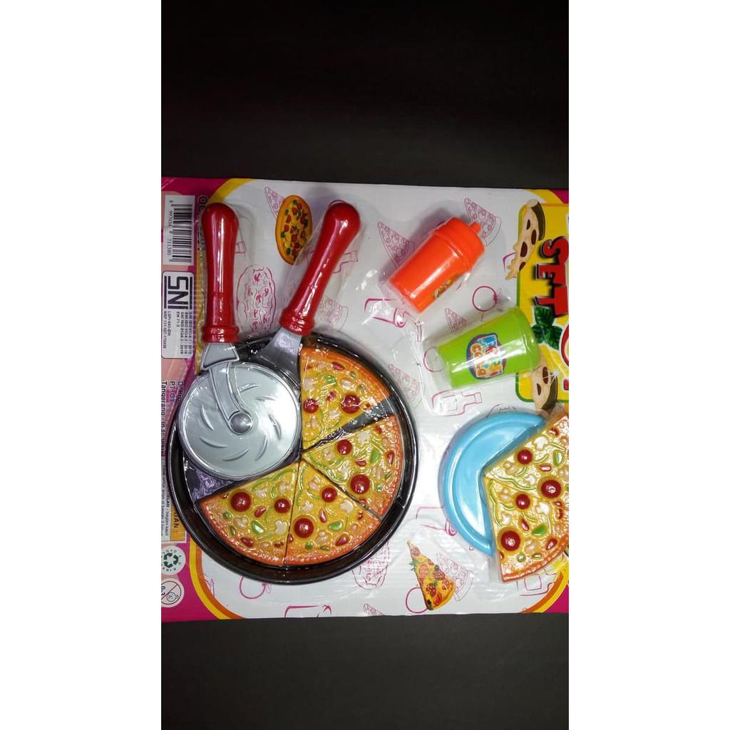 Mainan Masak Masakan Anak Murah Pizza Set Shopee Indonesia