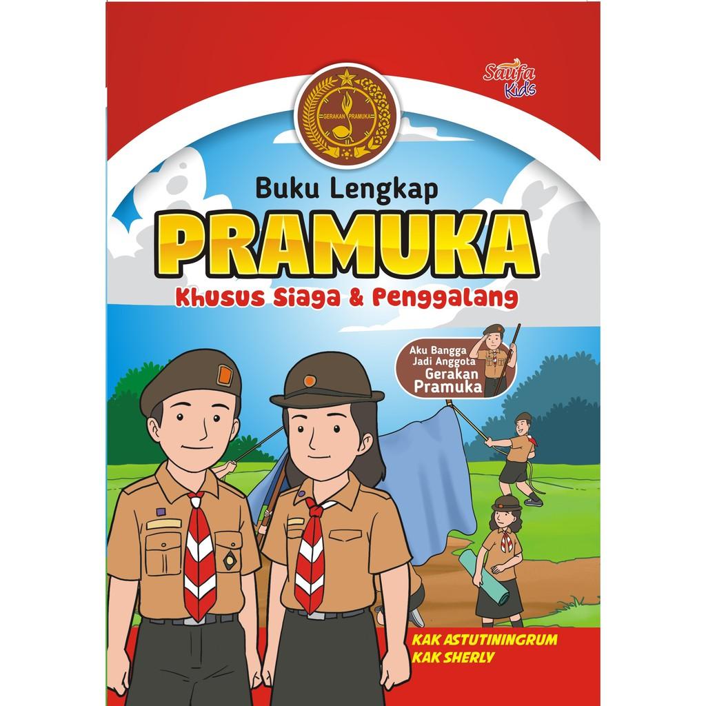 Buku Panduan Lengkap Pramuka Penggalang Shopee Indonesia