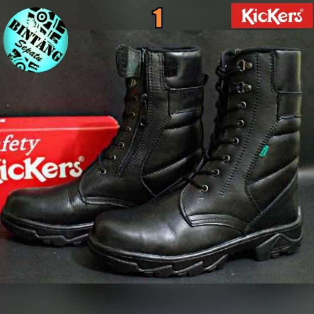 Sepatu kulit safety keren   sepatu boot di pakai artis   sepatu original  bandung  53c6f47ee5