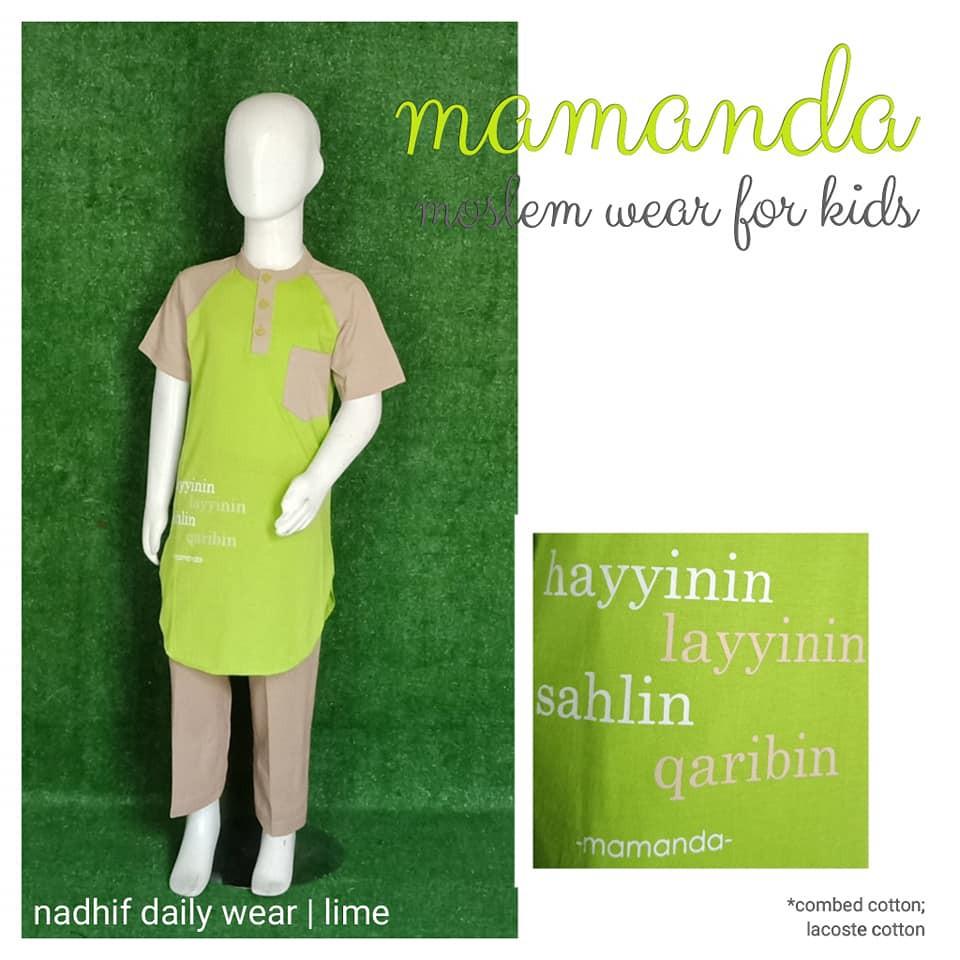 Koko Anak Mamanda Lime (Nadhif Daily Wear)