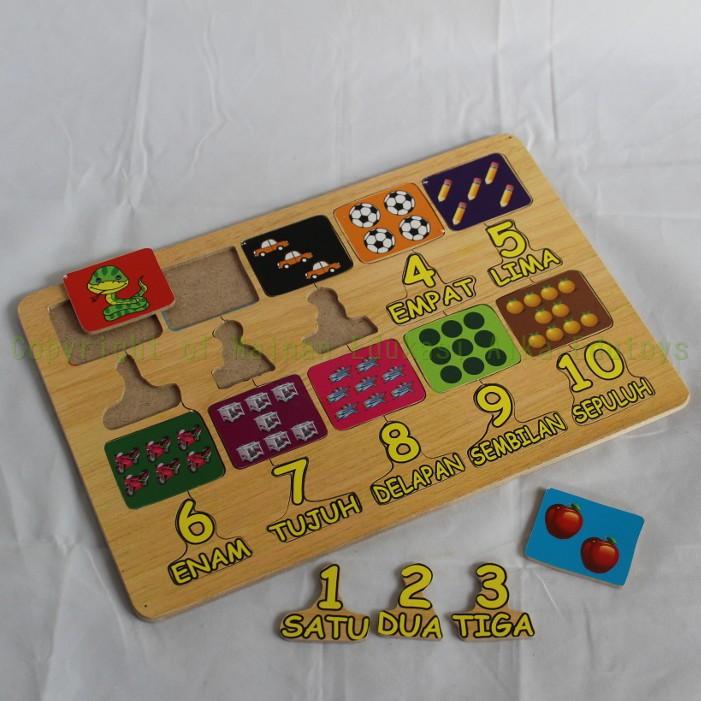 Mainan Congklak Lipat / Dakon Kayu / Carukan / Mainan Tradisional Edukasi Edukatif Anak Aika Toys