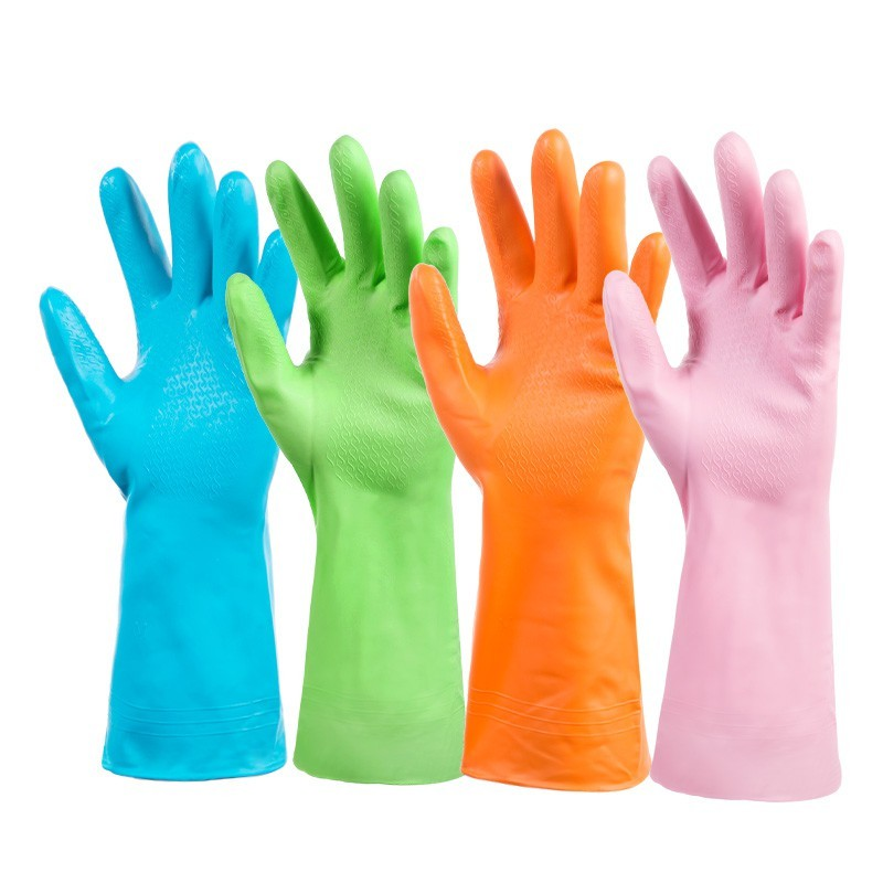 PKST49 SARUNG TANGAN KARET CUCI PIRING ANTI AIR RUBBER GLOVE MURAH - HPR088 | Shopee Indonesia
