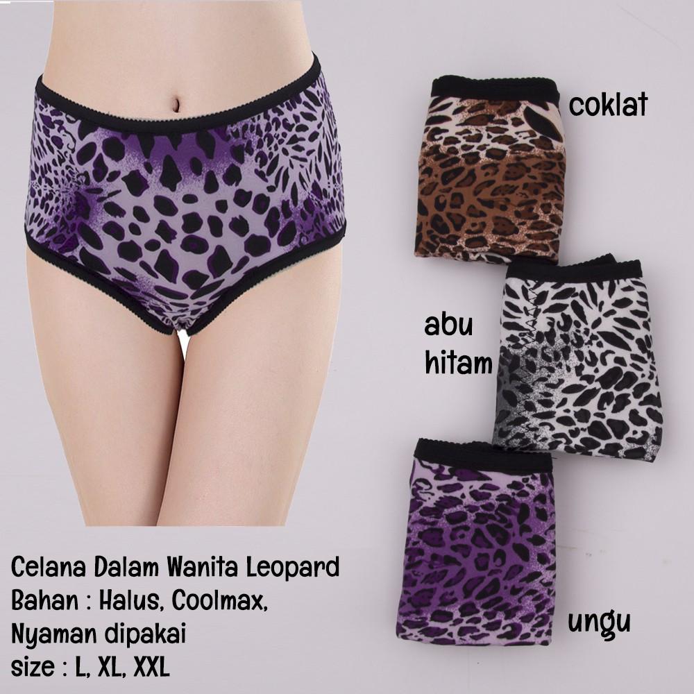 LPRD1 - Celana Dalam Wanita Motif Leopard   Panties   Pakaian Dalam Wanita    Lingerie  c274b057df