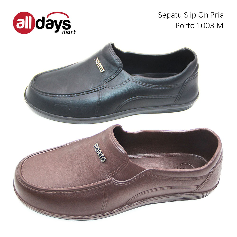 Porto Sepatu Slip On Pria 1003 M Size 40-44  f1362d8aac