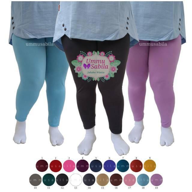 Celana Legging Yoga Fitness Senam Jogging Zumba Celana Dalaman Wanita Jumbo Muat Bb 80kg Bigsize Shopee Indonesia