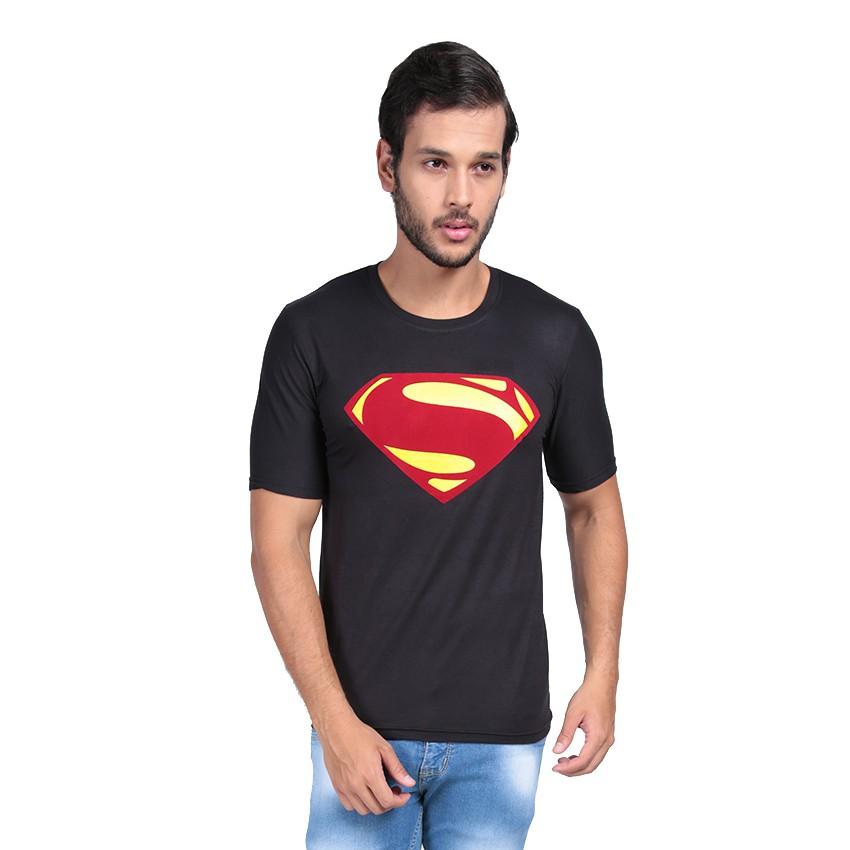 Kaos Pria / Distro Premium / T-shirt Cowok Superhero Superman - Hitam - Vanwin | Shopee Indonesia