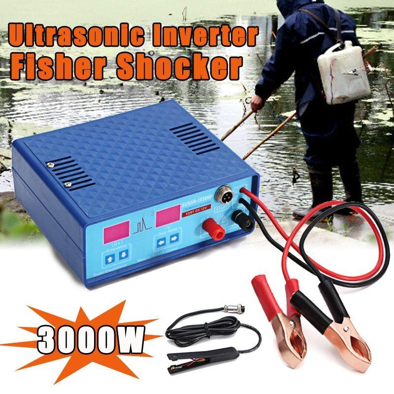 SUSAN 835MP 12V Ultrasonic Inverter Electric Fisher Fishing Machine Fish Stunner