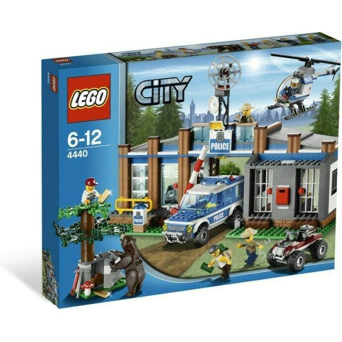Lego City 4440 Forest Police Station Polisi Hutan Shopee Indonesia
