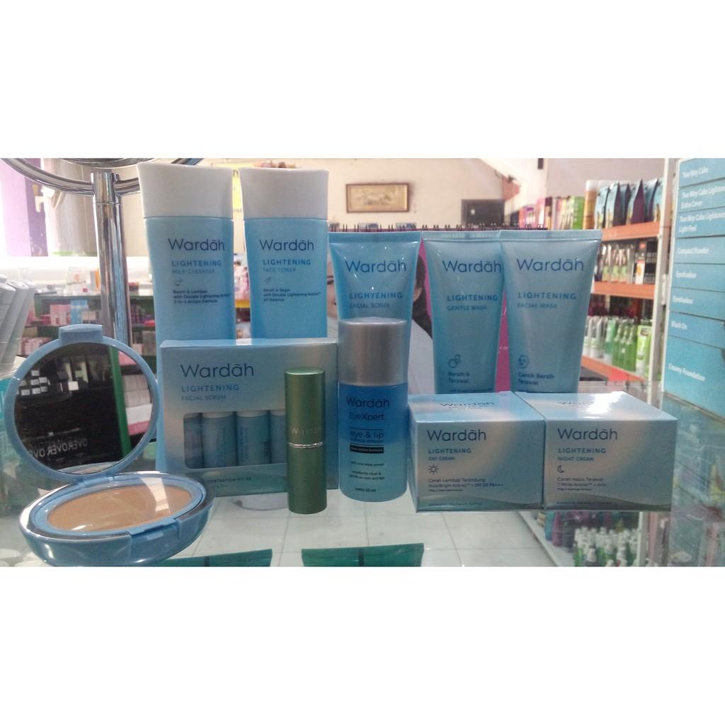 Wardah Paket Lightening Komplit Shopee Indonesia Kosmestik Step 2 Series