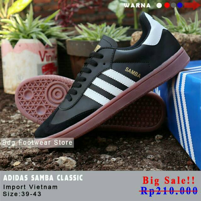 SEPATU ADIDAS SAMBA FRANCE HOLIGANS ULTRAS CASUAL  be35f81be5