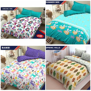 Ss Bedcover Set Kintakun D'luxe Deluxe 180 Mix Motif 180x200 King Size No 1 Bed Cover Bagian 1