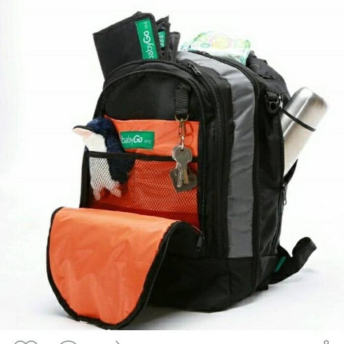 Babygo Inc plum backpack .