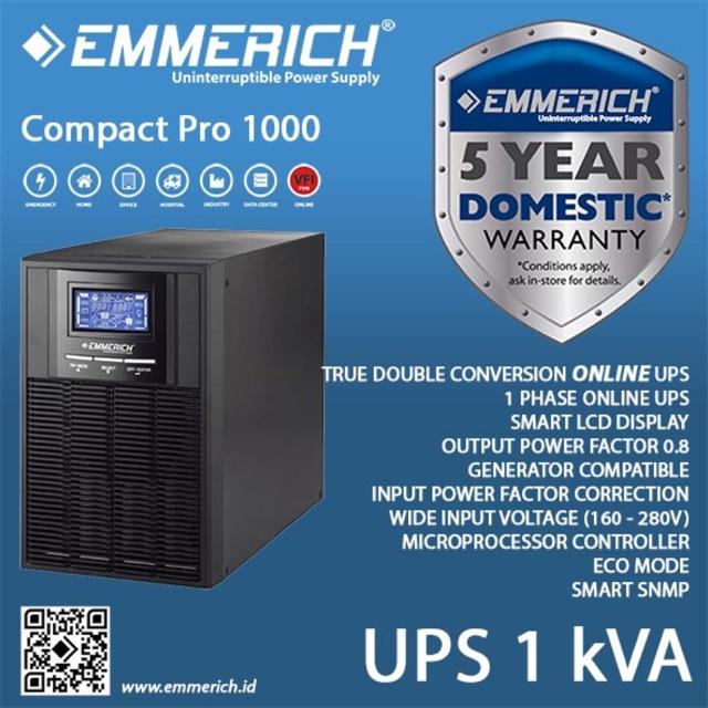UPS Online Emmerich 1 kVA