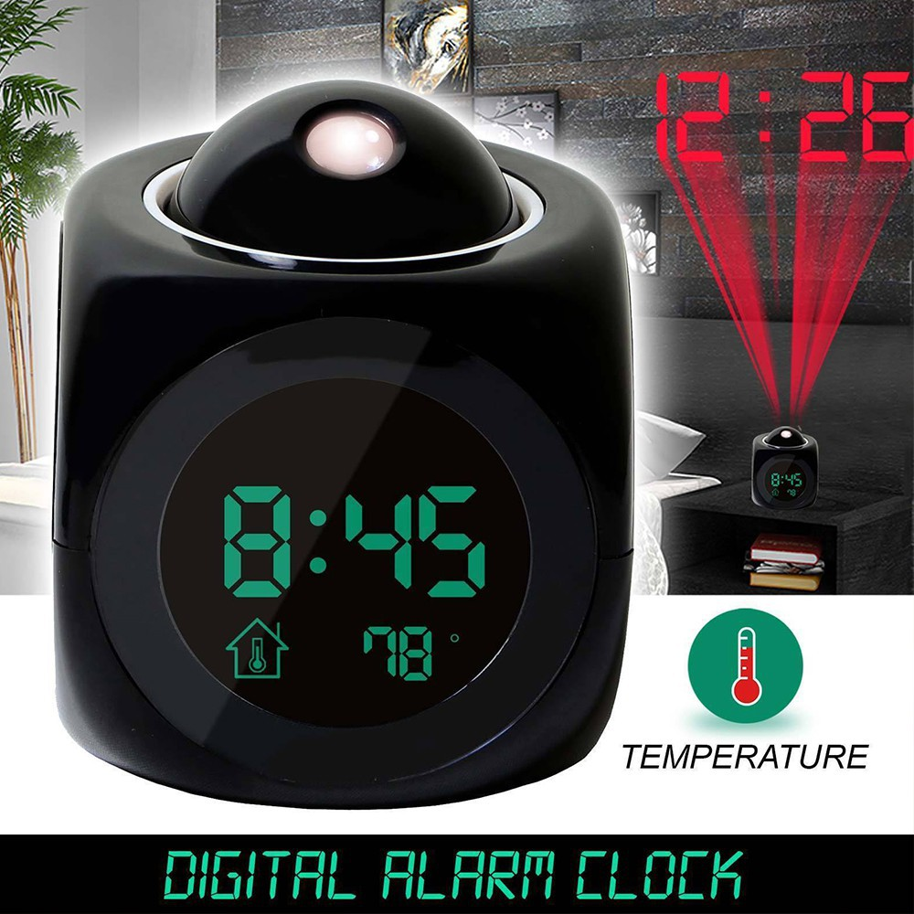 New Produk% Jam Dinding Digital LED Meja LED Clock 3615 Hijau ... 223552b445