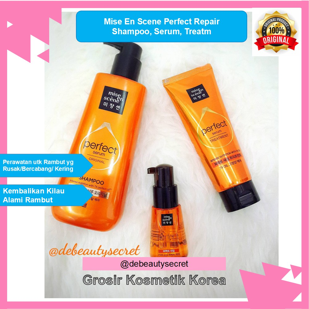 🌸 MISE EN SCENE Treatment Pack 180ml 🌸  48c9b607dd