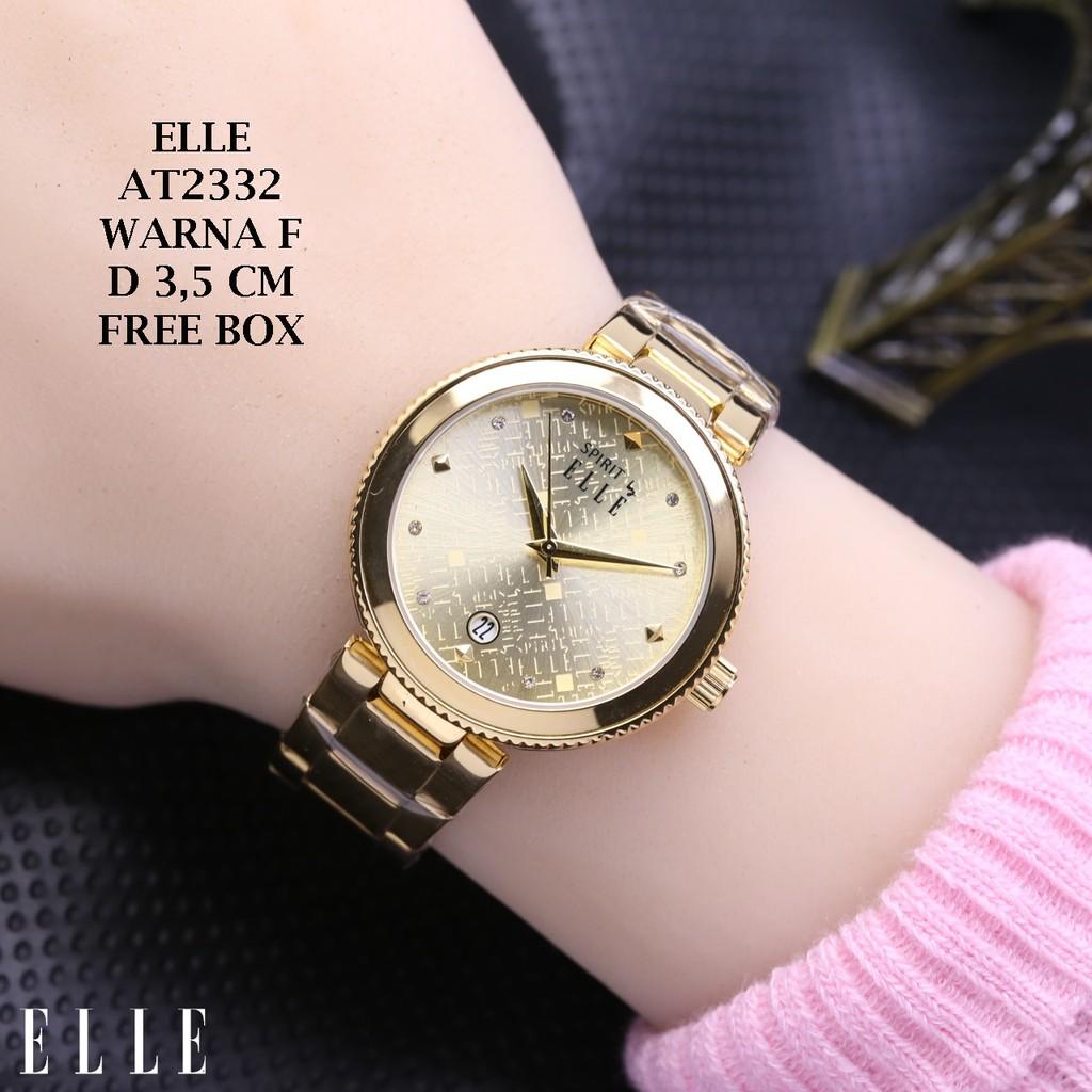 Daftar Harga Elle El20334s08c Shopee Indonesia Terbaru 2018 Aigner A16253 Siena Biru Rosegold El20331b02c Jam Tangan Wanita Silver