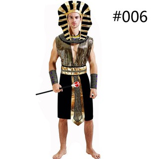 Egyptian King Mens Large Fancy Dress Adults Pharoah Movie Egypt Costume Outfit